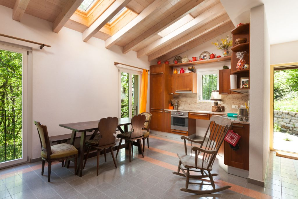 loft for dining