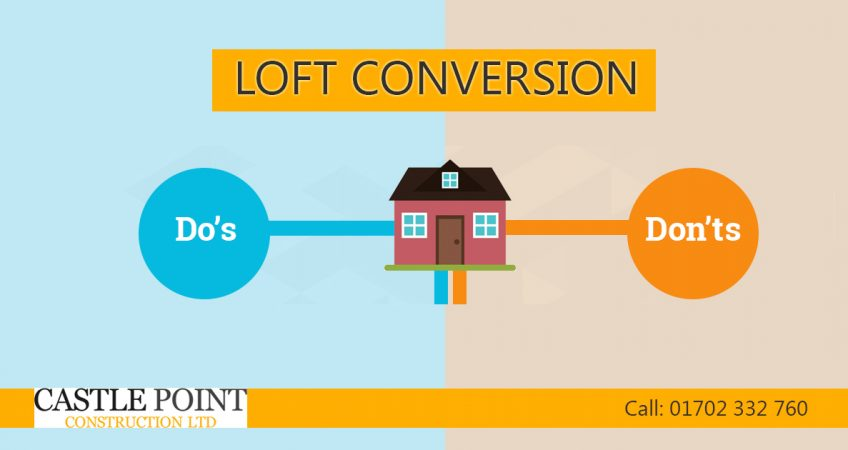 loft conversion do donts