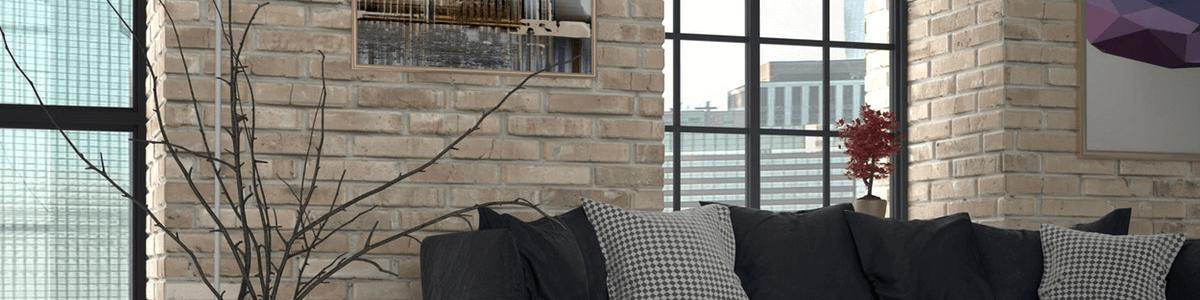 Living room brickwork